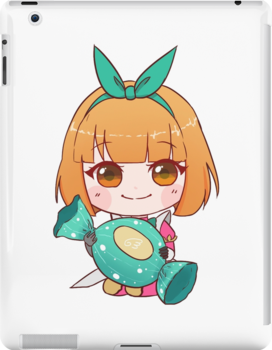 Angela [mobile Legends] Sweet Chunks Ml Collection By Buns Ipad Snap Case by Bunsarts