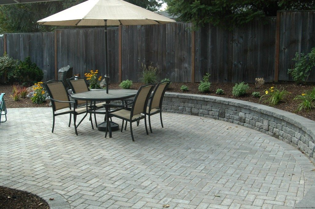 Paver Patio Cost 2014 - pictures, photos, images (With ... on Cost Of Backyard Remodel id=22026