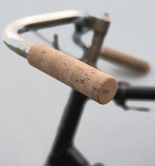 Cork Handlebar Grips Handlebar Grip Bike Design Bicycle Handlebars
