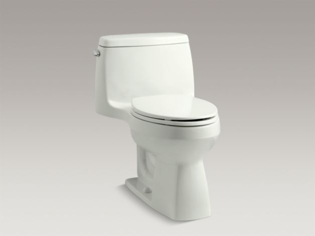 Kohler K-3811 Santa Rosa comfort height 1.6-GPF one-piece elongated ...