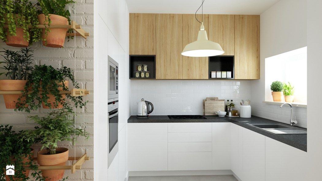 Jaki blat do białej kuchni? 7 sprawdzonych pomysłów projektantów - interieur in weis und holz modern design