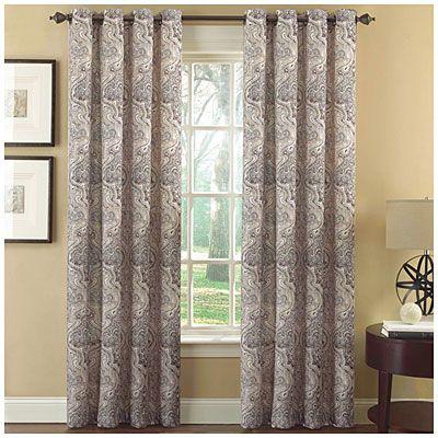 Ellery Homestyles Grommet Printed Room, Ellery Homestyles Curtains