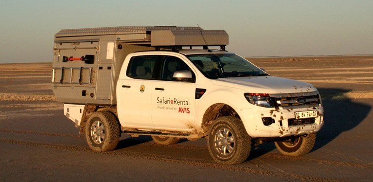 Ford Ranger Safari Vehicle For Hire In South Africa
