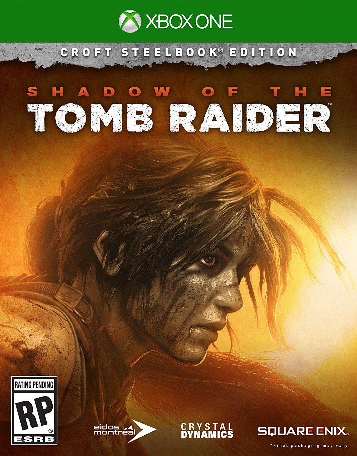 Shadow of the Tomb Raider - Croft Steelbook Edition [Xbox One] Release date: September 14. 2018 | Description: The Shadow of the… | Tomb raider ...