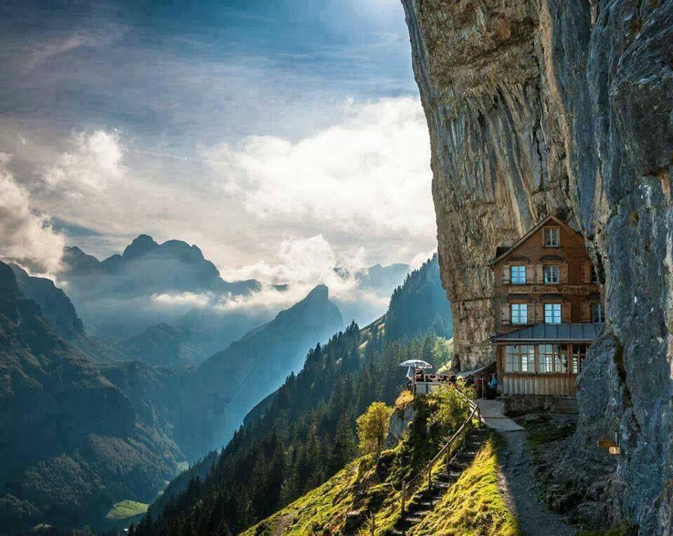 Appenzeller Switzerland Aescher Hotel Places To Travel