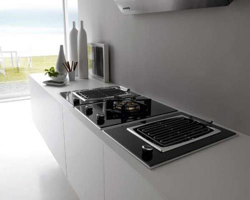This is a modern era kitchen stove it can be divided into 2 basic
