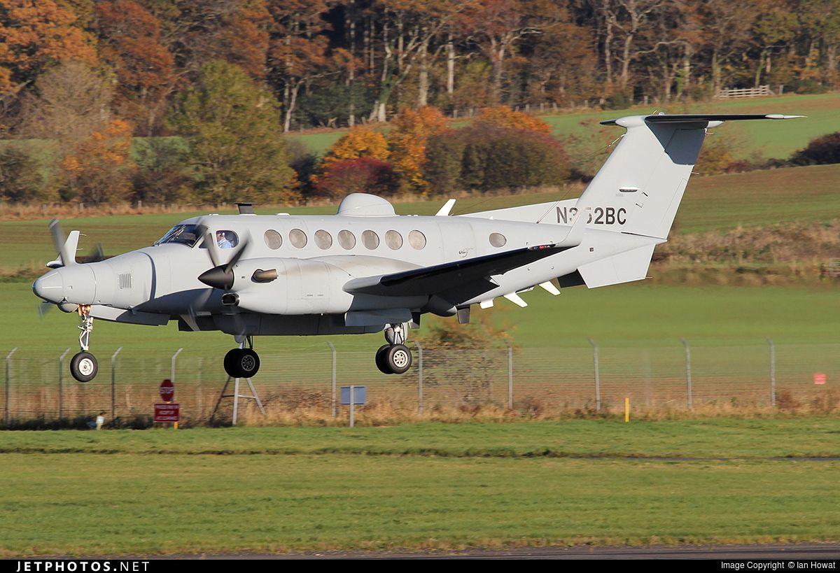 SPYDR (I) Beechcraft King Air 350ER, N352BC SIGINT AMI