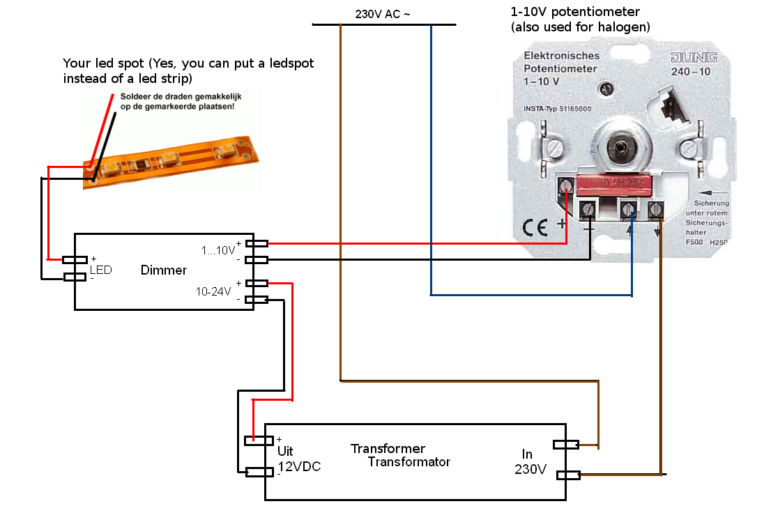 Led Transformer Wiring Diagram from i.pinimg.com