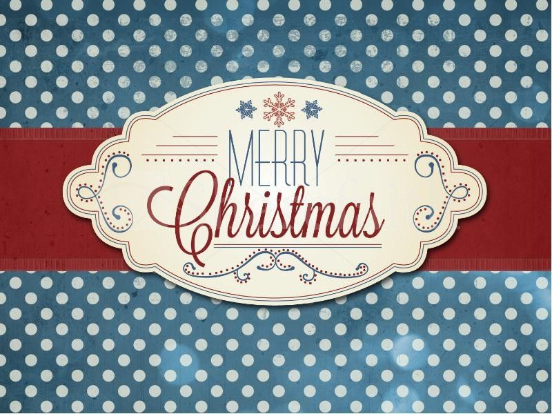 Merry Christmas Powerpoint Template For Church A Beautiful