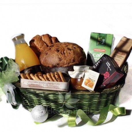 Desayuno sorpresa en navidad con productos navide os un - Regalar desayuno a domicilio madrid ...