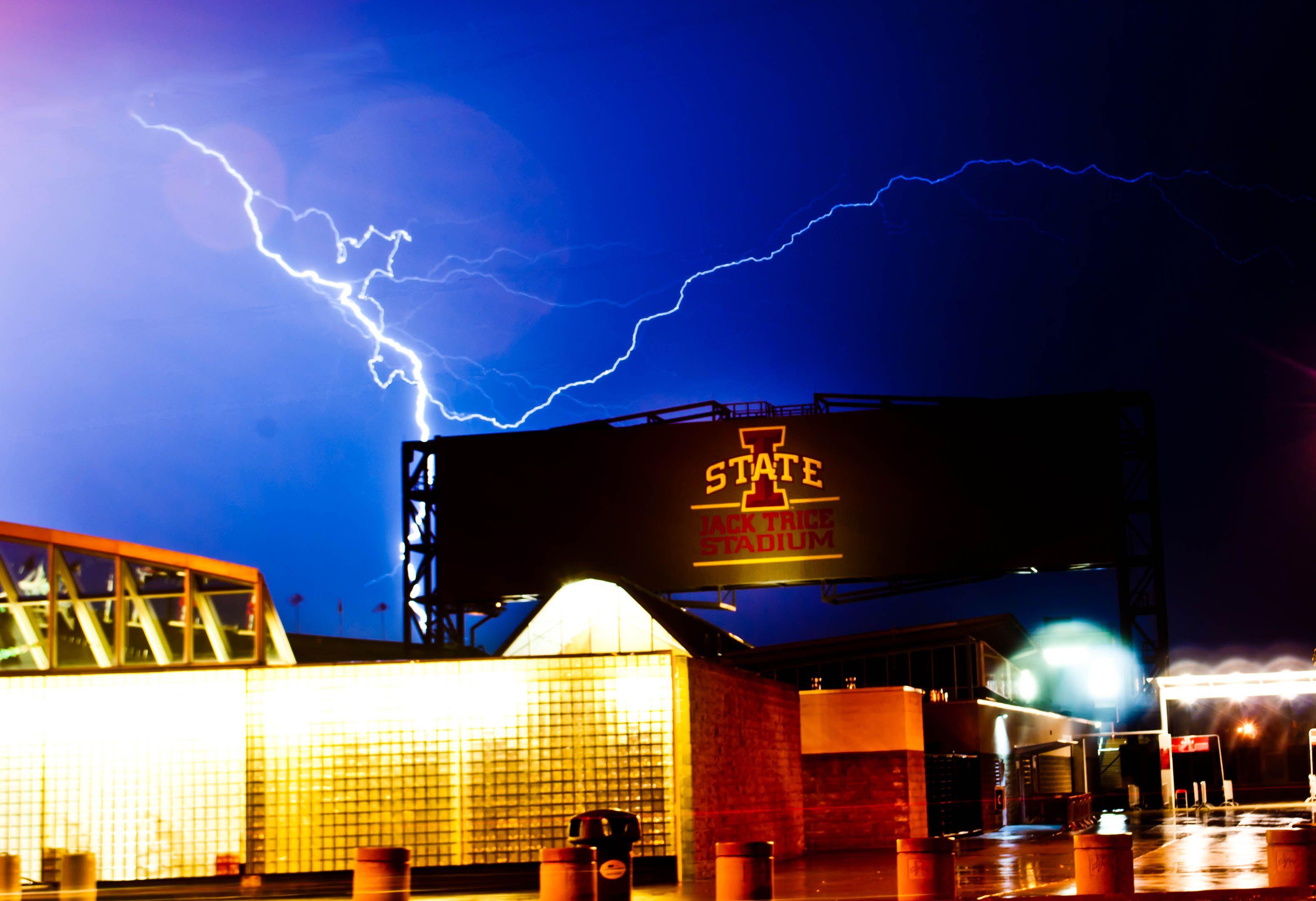 Jack Trice Stadium Cyclone Power! Iowa state cyclones