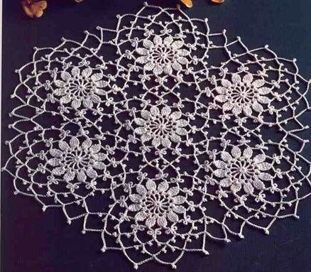 Table Center Delicate | Doilies | Pinterest | Traumfänger, Deckchen ...
