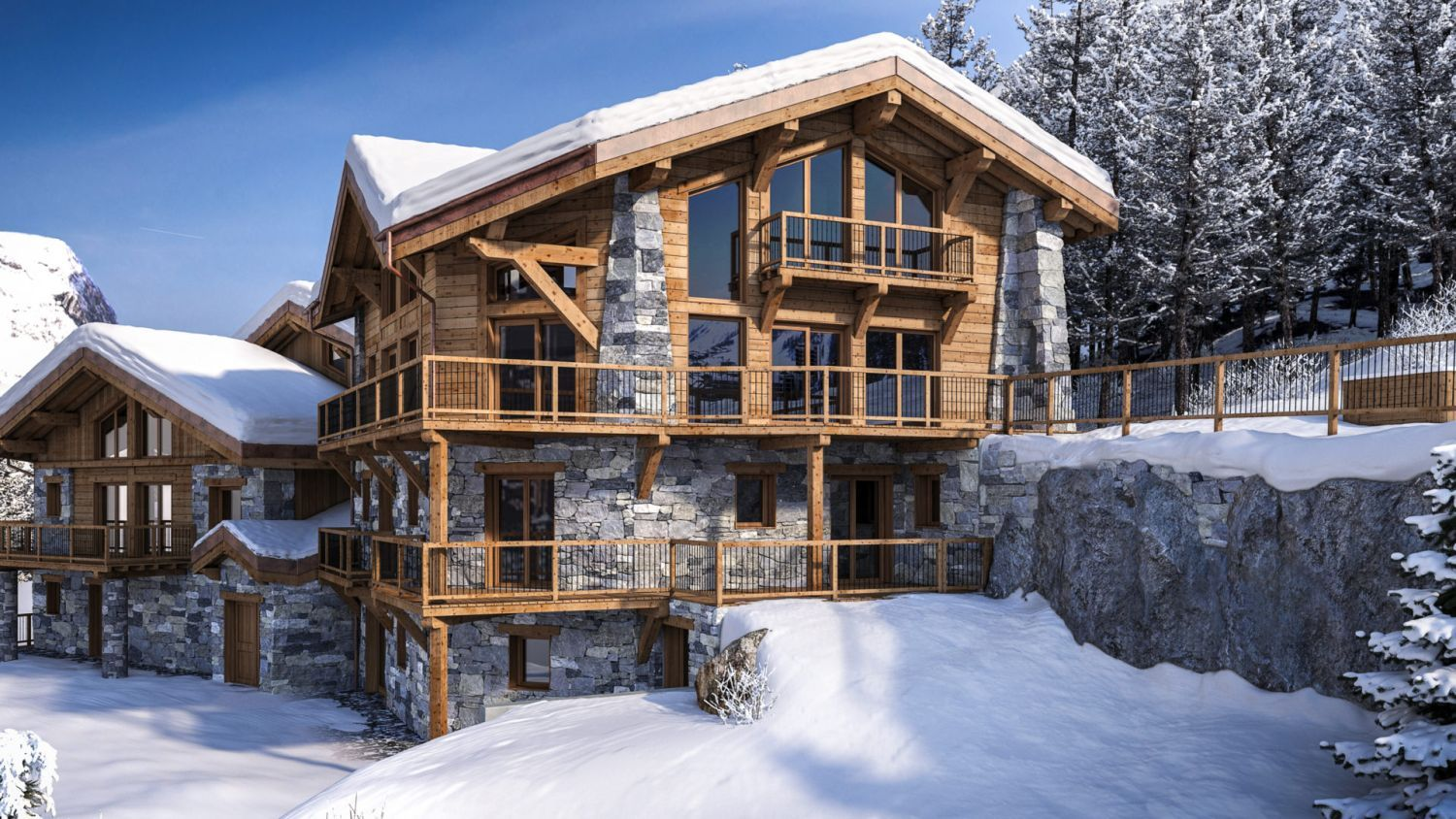 The Farmhouse Val D Isere Chalet Machapuchare New Ski Chalets 2018 19 Ski Chalet Gym