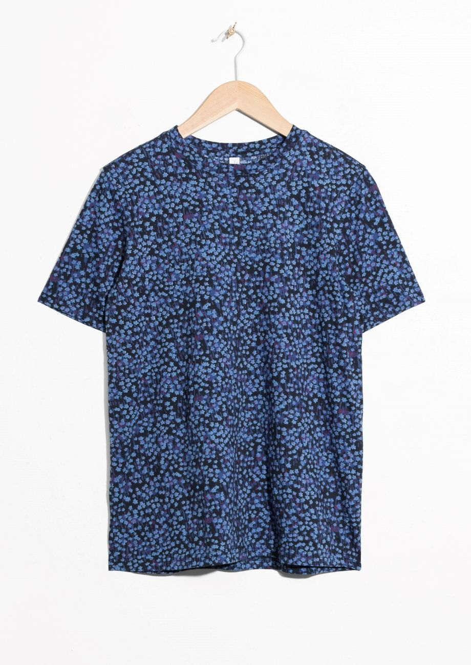 & OTHER STORIES Floral Cotton Top