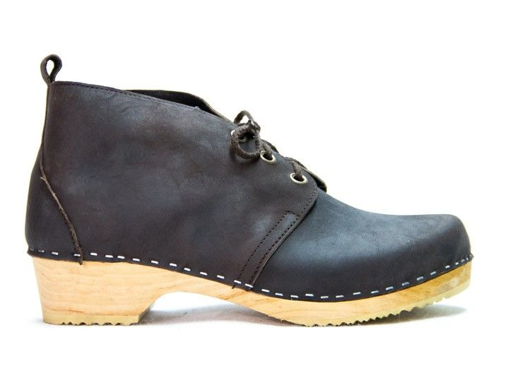 Sandgrens Swedish Clogs - Chukka - Clog Boots for men