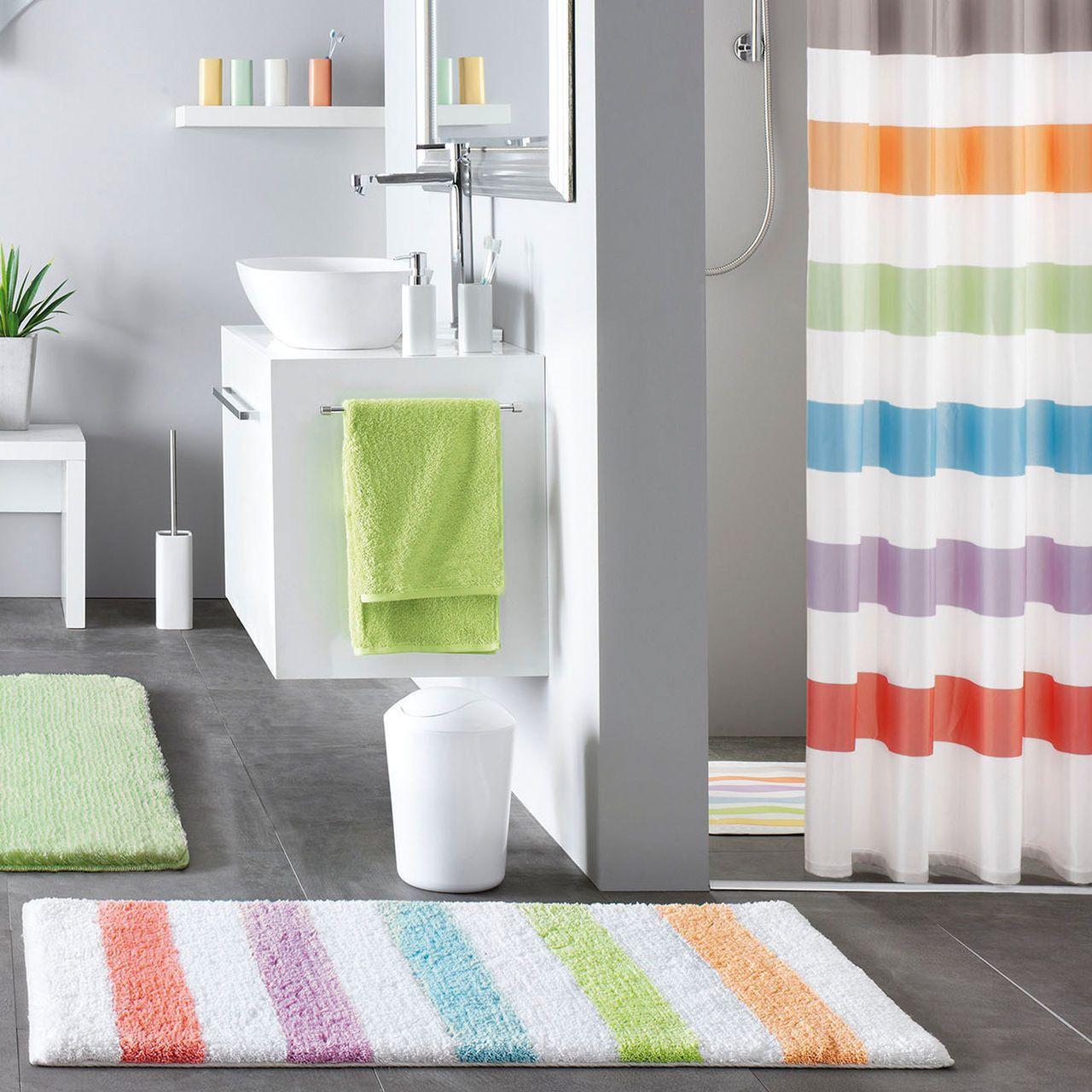 Badteppich Duschvorhang Kleine Wolke Dusche Duschvorhang