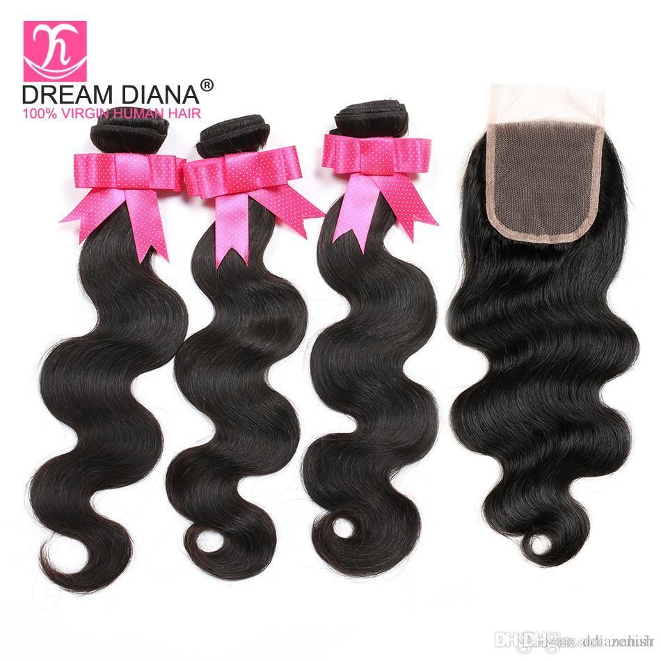 Cheap deep wave band lace frontal with bundles a unprocessed