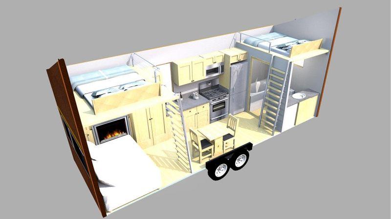Haus Auf Rädern energieeffizientes mobilheim ein haus auf rädern häuser