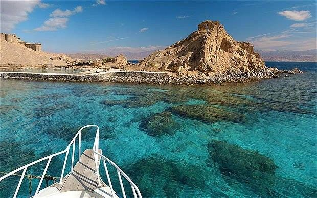 Facts About #Pharaoh's Island in #Taba, #Sinai, #Egypt