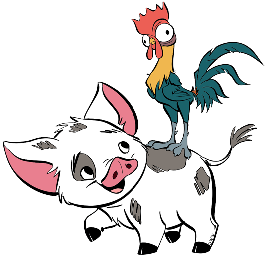 Pua Heihei From Moana Disney Tattoo Pua Heihei From Moana Models Were Added To Our Website As Quickly As Disney Canvas Art Disney Paintings Moana Drawing
