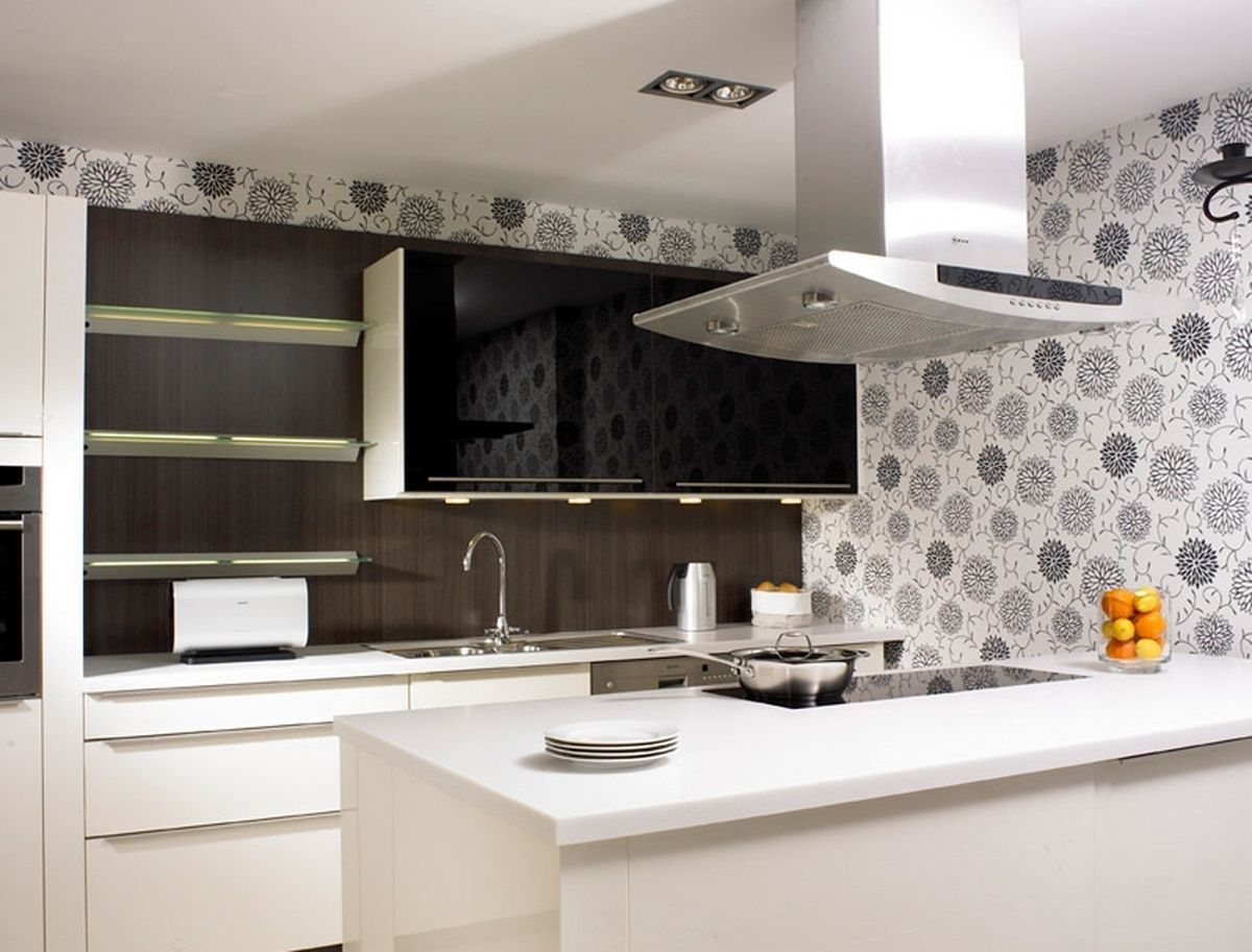 Kitchen Decorating Ideas  Kitchen Decorating Ideas  Pinterest Awesome Black And White Kitchens Designs Inspiration Design