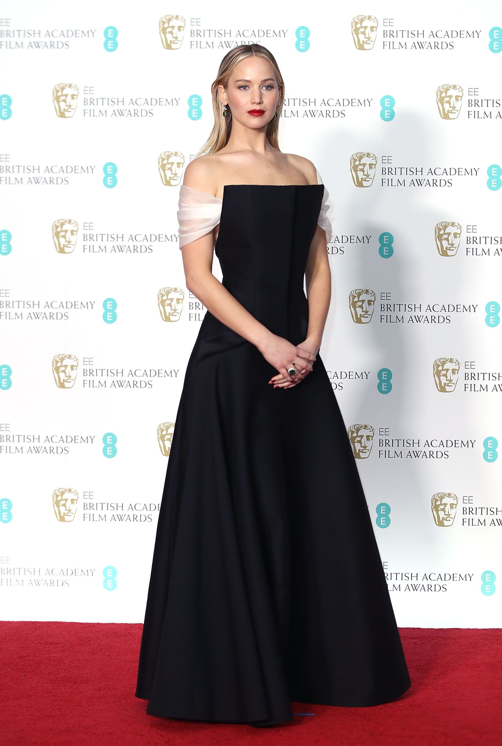 a1f934e338 All The Celebrity Looks From The BAFTA 2018 Red Carpet