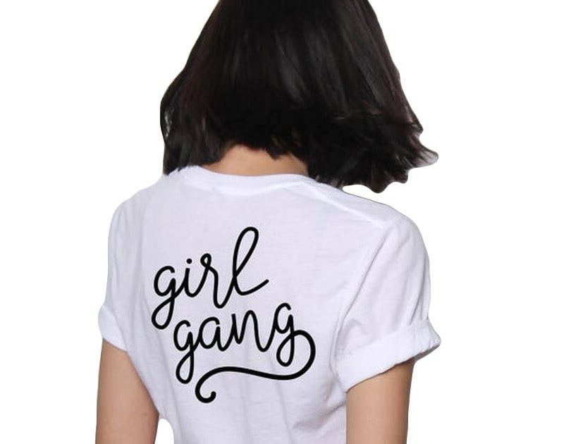 61c131c27faa Buy Online Girl Gang T Shirt Summer 2017 Fashion Women Clothing Hipster  Tumblr Slogan t shirts Women Tops Punk Harajuku Tee Shirt Femme