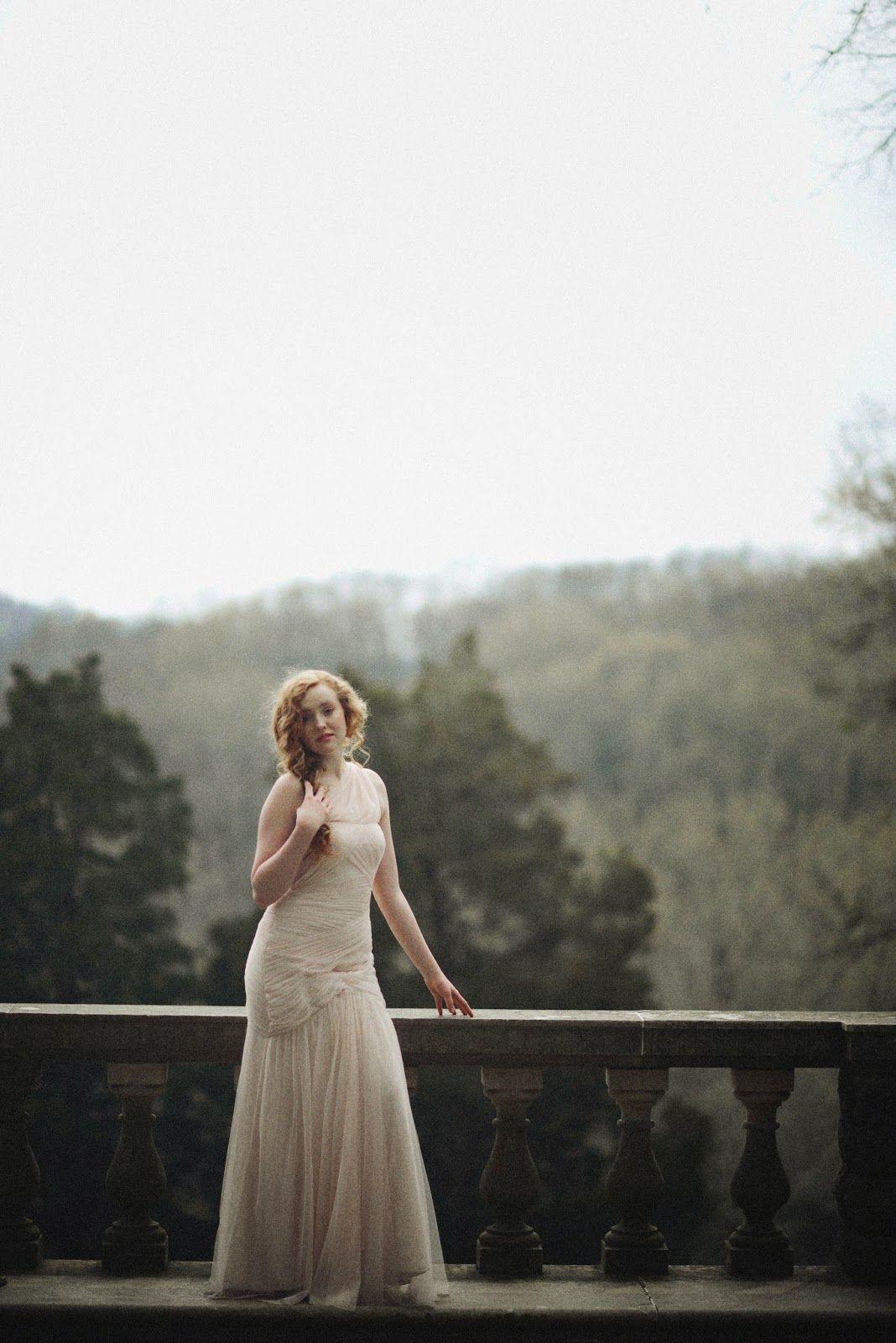 Secret Garden Editorial | Nashville Editorial Photographer | Monique Lhuillier Gown
