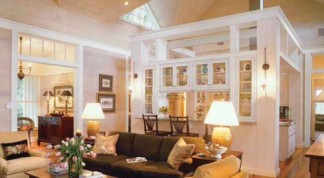 Open Room High Ceiling Bungalow Interiors Dream House House