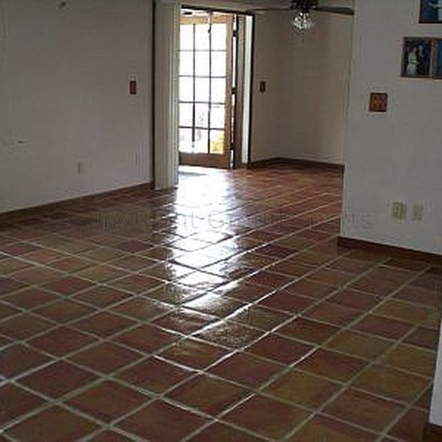 How To Refinish Old Mexican Tile Floors Pinterest Tile Flooring