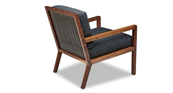 American Leather Aiden Arm Chair | Ambiente Modern Furniture