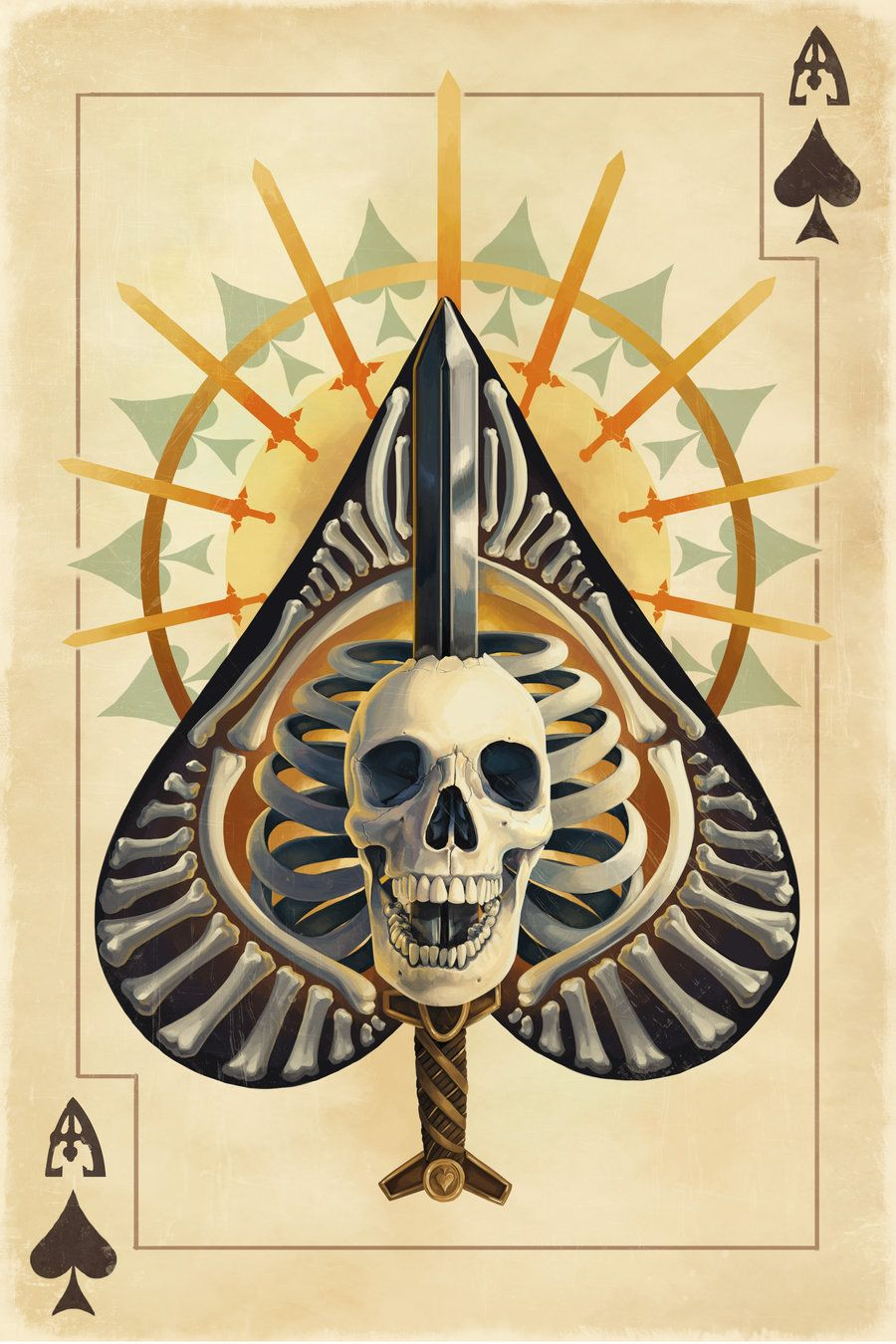 Playing Cards - Ace Of Spades, Playing Cards by Chronoperates on @deviantART - playingcards, playingcardsart, playingcardsforsale, playingcardswiththefamily, playingcardswithfamily, playingcardsgame, playingcardscollection, playingcardstorage, playingcardset, playingcardsproject, cardscollector, playingcard, design, illustration, cards, cardist