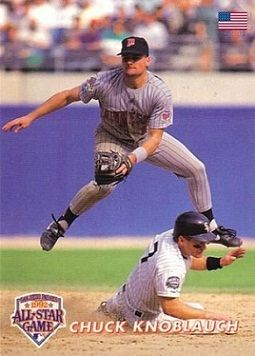 Chuck Knoblauch Twins Baseball Minnesota Twins Baseball Minnesota Twins