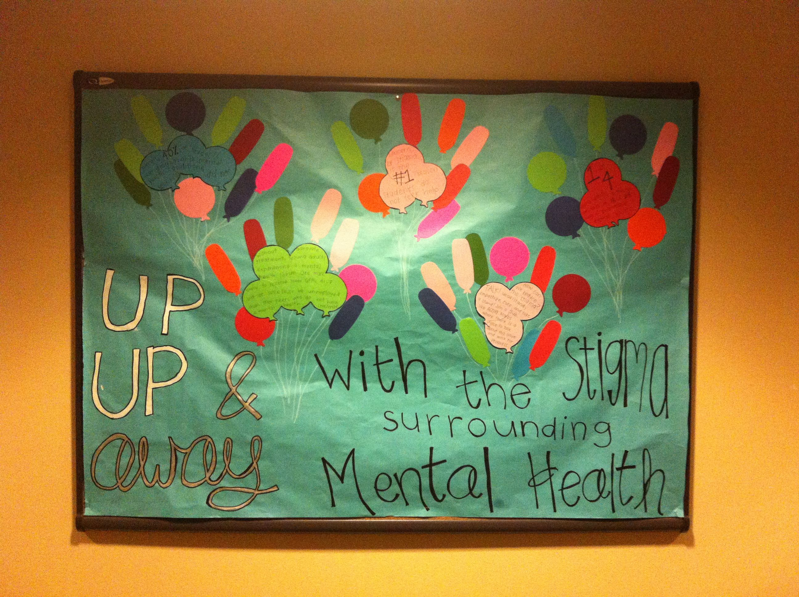 Bulletin Board Getting Rid Of The Stigma Surrounding Mental Health