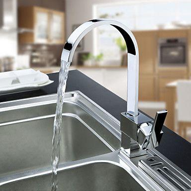 latón grifo de la cocina contemporánea http://www.grifoso.com/lat%C3 ...