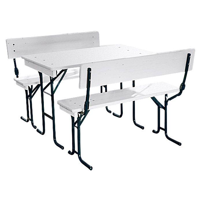 Tisch Maße bierzeltgarnitur maße tisch 70 x 110 cm garden