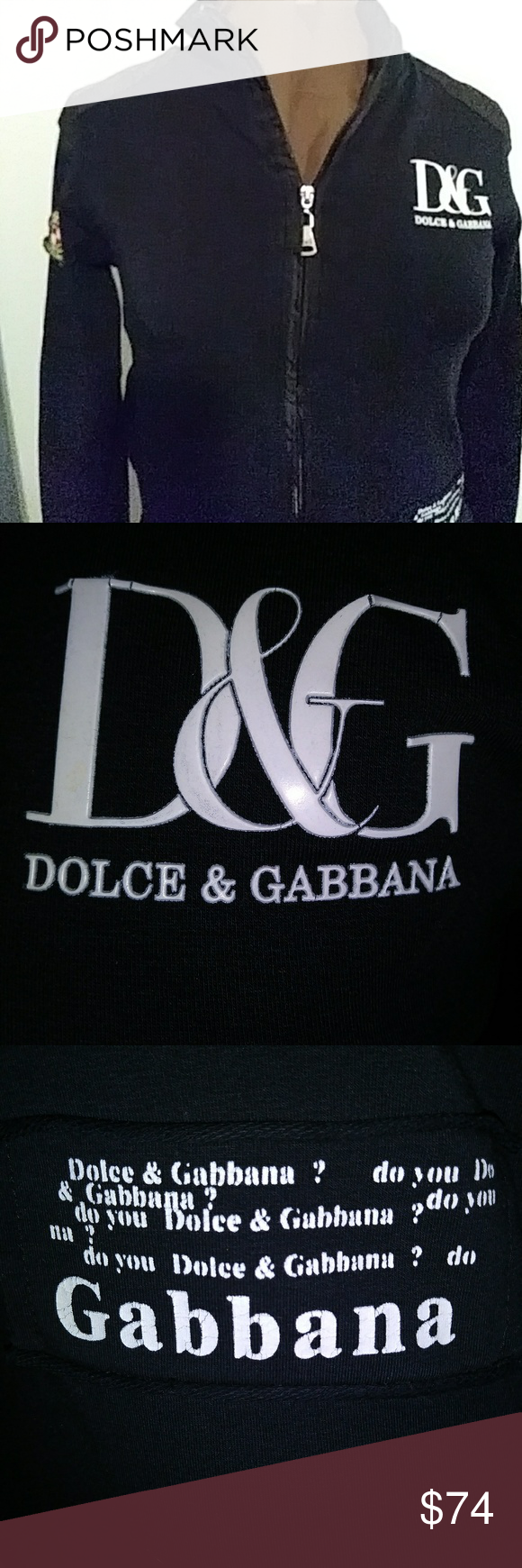 dolce gabana logo sweatshirt d g sz m up for grabs is this dolce gabbana logo sweatshirt in black and white and it sweatshirts dolce gabbana logo dolce pinterest