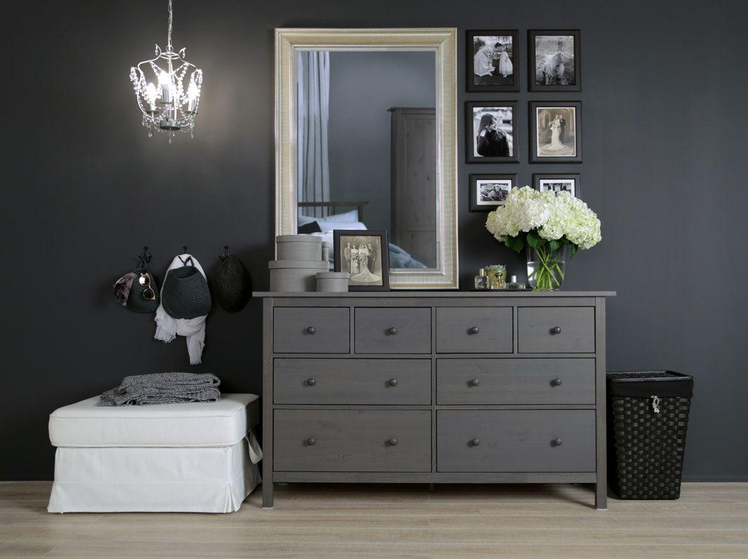 A gallery of bedroom inspiration  Grey bedroom furniture, Hemnes