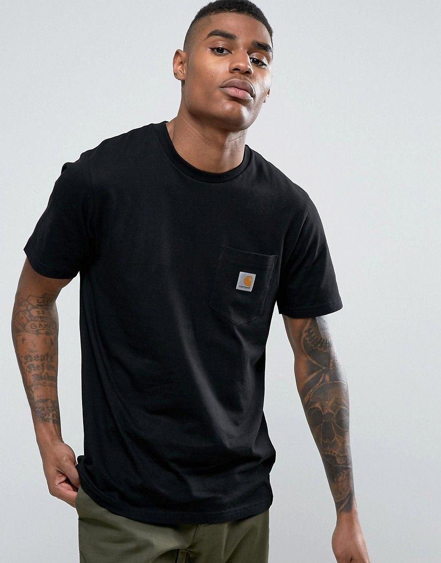 e3e9247ba9 CARHARTT WIP POCKET T-SHIRT - BLACK. #carhartt #cloth # | Carhartt ...