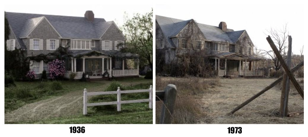 Grey Gardens House Before and After Grey gardens house