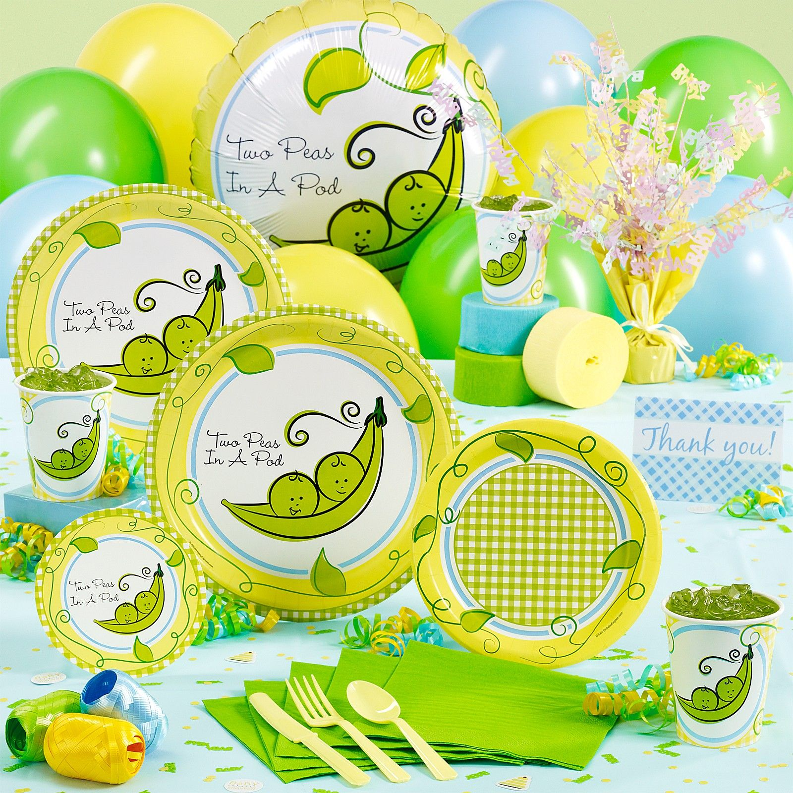 shower supplies ideas plus decorations two party showers with full for well favors pod a size decor of baby peas food also in themes as conjunction