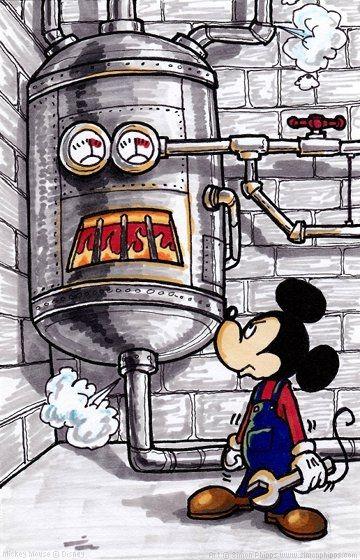 Broken Boiler Mickey Boiler Mickey Mouse Mickey