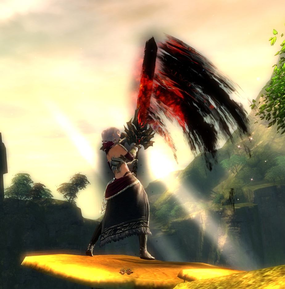 Gw2 - Twilight Greatsword (aka best weapon in the game