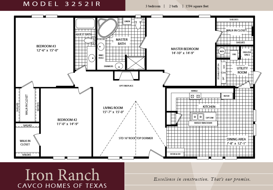3 Bedroom Double Wide Floor Plans Google Search Floor Plans Ranch Mobile Home Floor Plans Floor Plans