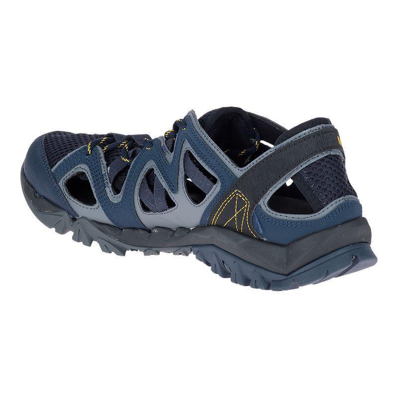 d4c5a5a2d46c Merrell Men s Tetrex Crest Wrap Sandals - Navy