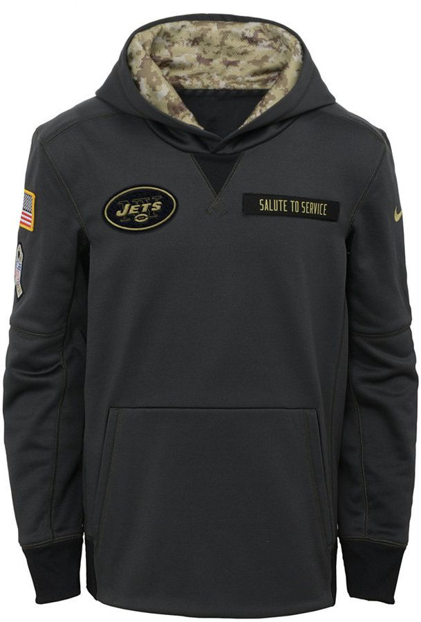 new product 9ec1f 9ea7d Nike New York Jets Salute to Service Hoodie, Big Boys (8-20 ...