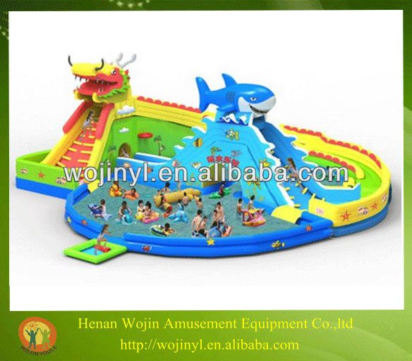 Giant inflatable water slide exporter/inflatable swimming pool slide/inflatable slides for adults $10000~$15000