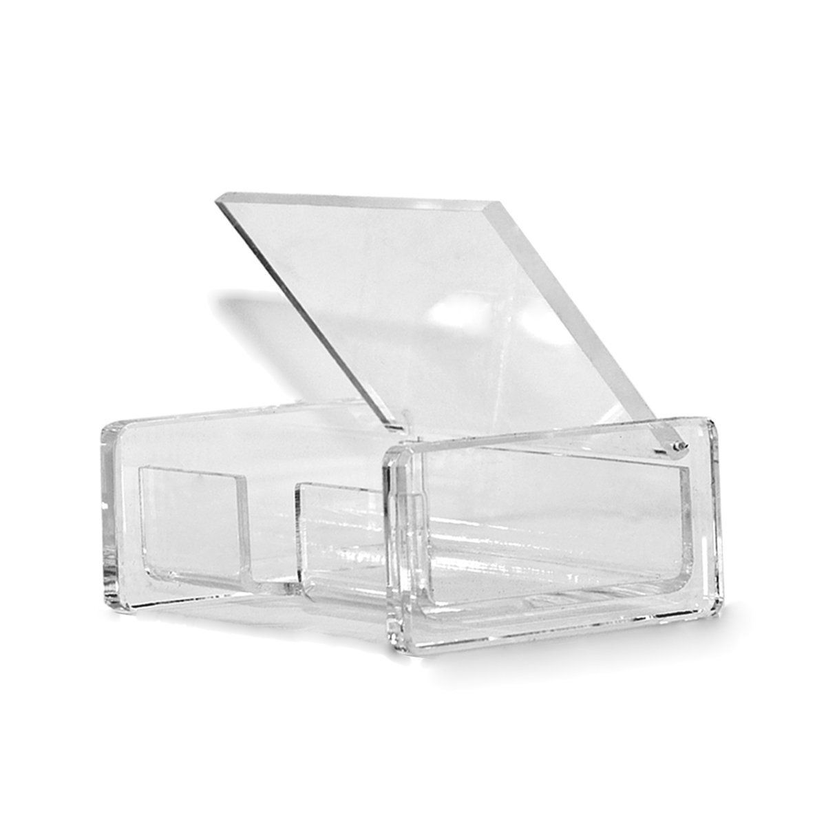 Amazon.com : Combination of Life Desktop Clear Acrylic Business Card ...
