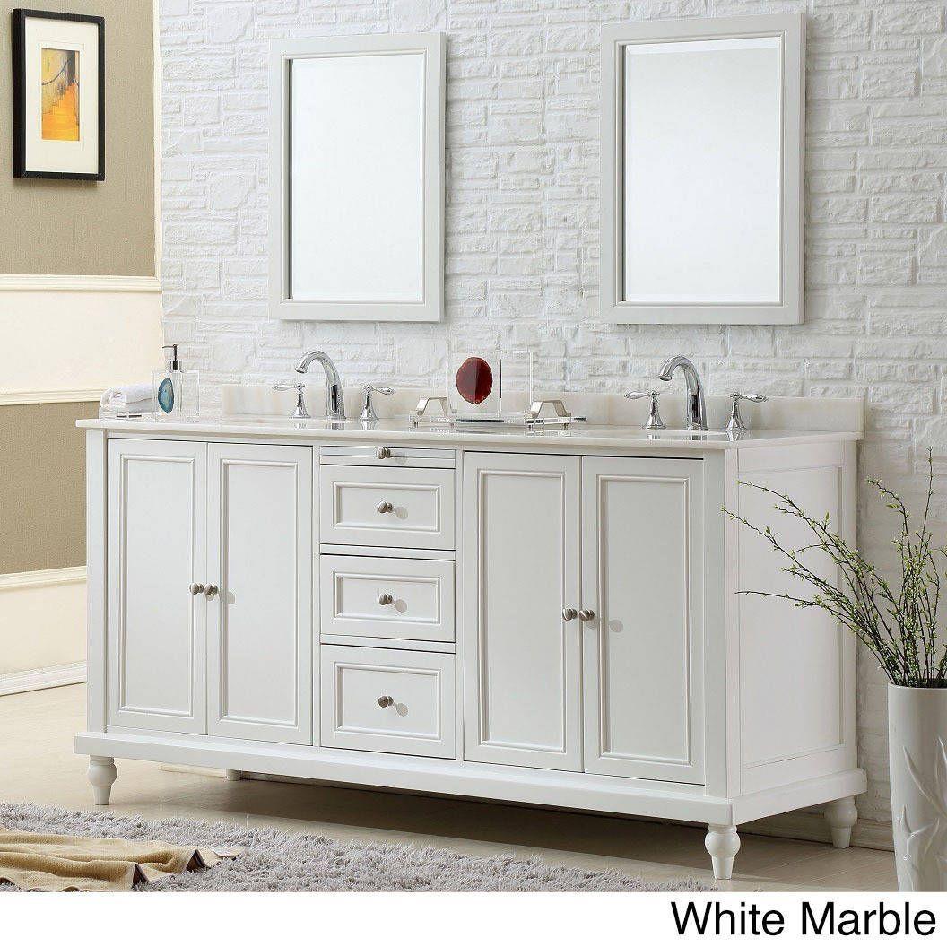Direct Vanity Sink 70 Inch Classic Double Vanity Sink Cabinet