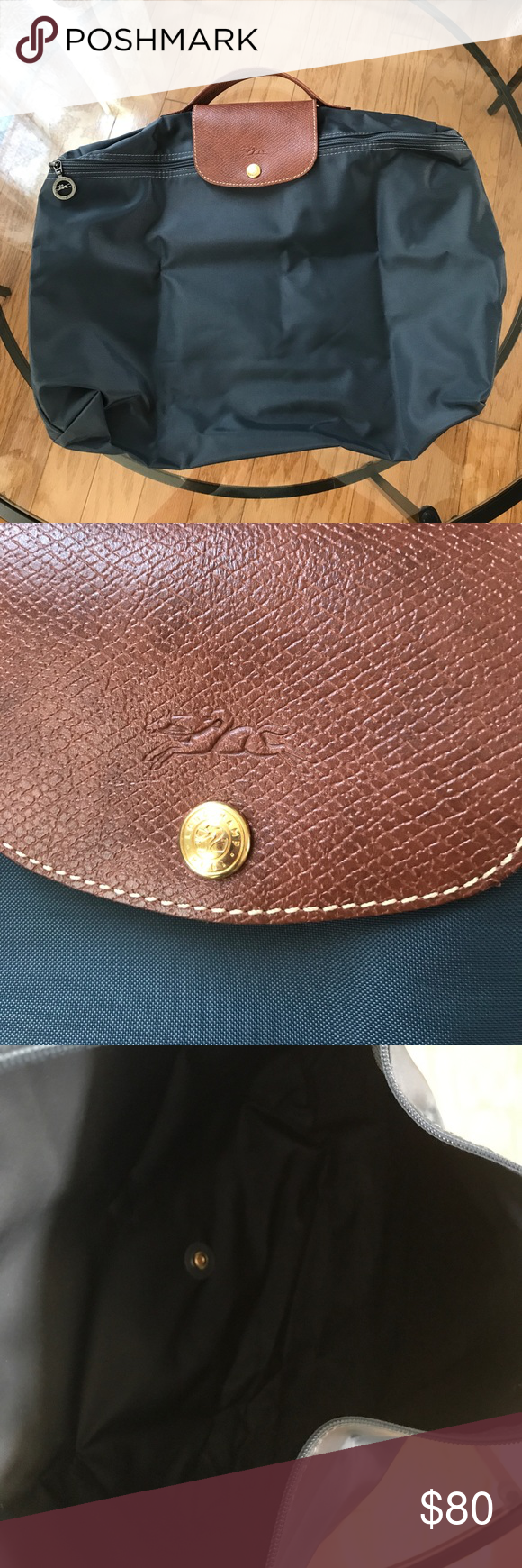 Longchamp Le Pliage Travel Bag 14 Inch   ReGreen Springfield 4ea5f6019c